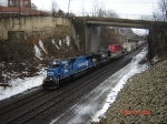 NS 2564  Ex- PRR SD70   NS 7612  Built 10/2006  ES40DC  Feb 22, 2007